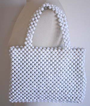 sac de plage Beaded Bag